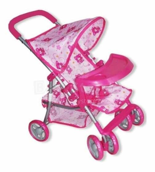 BabyMix Art.9304BWT-M1104W Pastaigu leļļu rati
