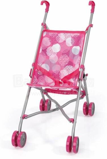 Bayer Art.30189/12 Pink Sporta ratiņi lellēm
