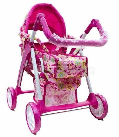 Baby Mix Art.9388S -M1505W Leļļu rati
