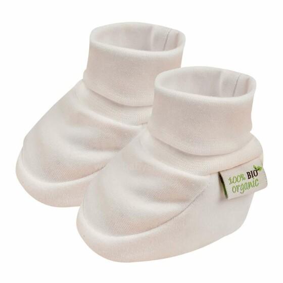 Bio Baby Baby Booties Art.97220900 Bērnu zābaciņi no 100% organiskā kokvilna