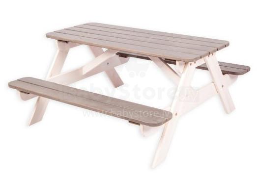 Folkland Art.119895 Bērnu piknika galds ar soliņiem