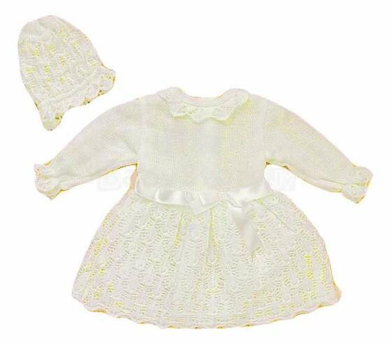 Artex Art.12357 Cream Bērnu kleita krīstībam (0-3 men.)