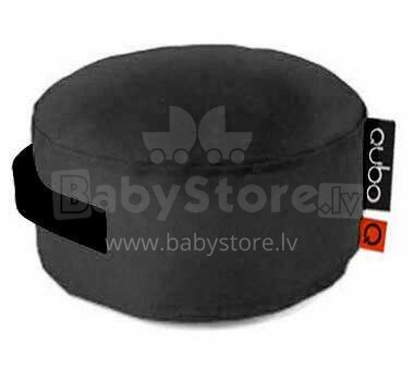 Qubo™ Just Band-70 Art.15707 Black Interior  Sēžammaiss, Puffs, Mīkstais bean bags, pupumaiss