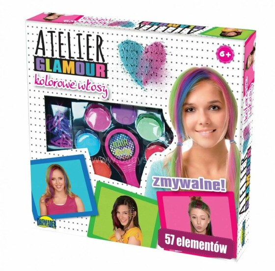 I-Toys Atelie Glamour Art.8669V Krītiņi matiem