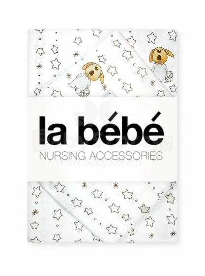 La Bebe Nursing Bears Bērnu kokvilnas virspalags 60x90cm
