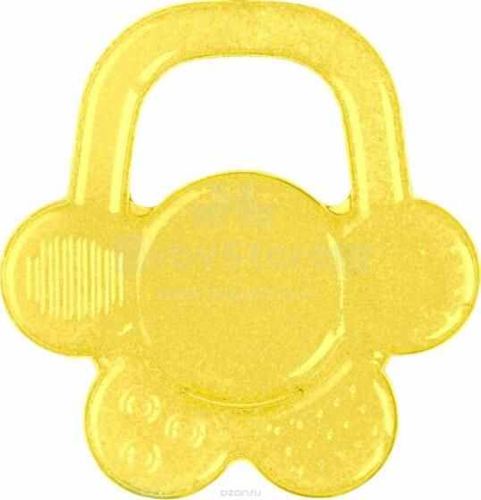 BabyOno Art. 1018 Dzeltens Kožamā rotaļlieta