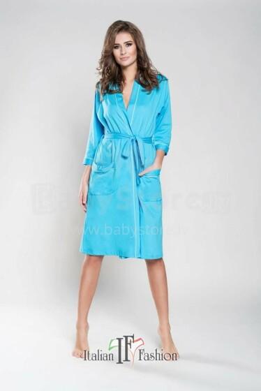 Italian Fashion Megan Art.76243 Turquoise Peldmētelis(halāts) grūtniecēm