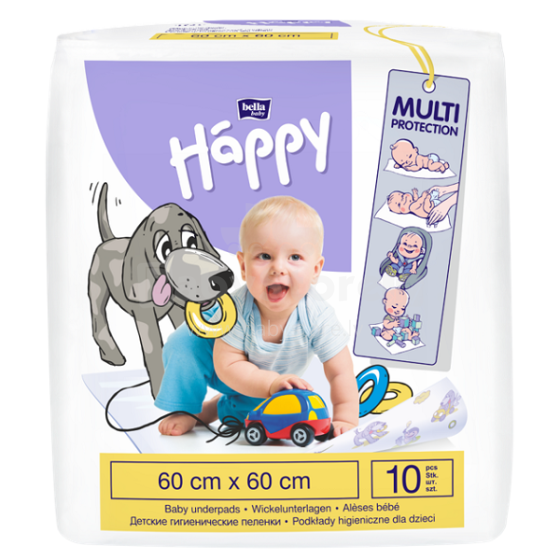 Happy Art. BB-091-6010-001 Paladziņi bērniem 10 gab. (60x60cm)