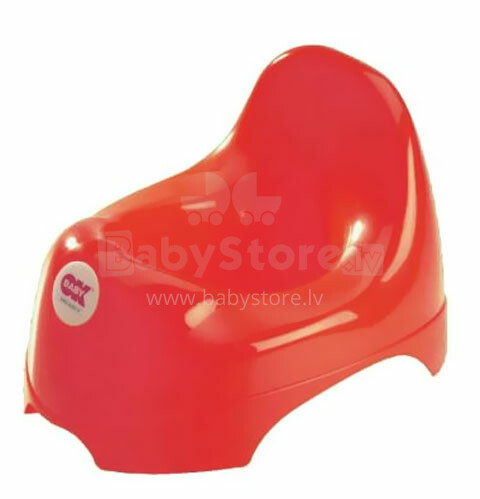 OKBaby Relax Red Anatomiskas formas podiņš