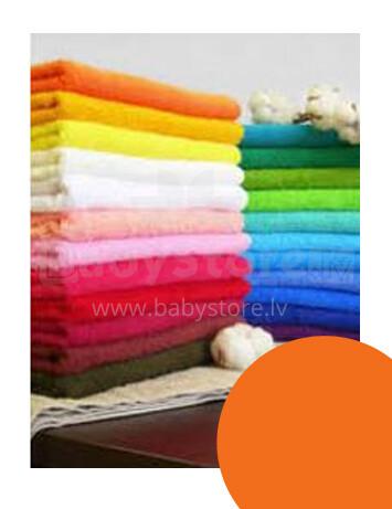 Kolorino 828 Orange FROTĒ palags ar gumiju 60x120 cm