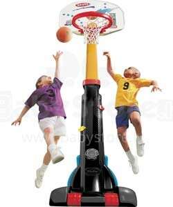 Little Tikes 433910060 EASY STORE BASKETBALL SET  Basketbola rinķis