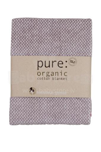 Fabulous Goose Melange Organic cotton – PURE Dabīgas kokvilnas plediņš bērniem 75x100 cm