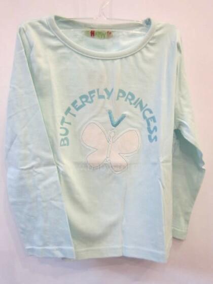 Bērnu T-Krekls ar garām piedurknēm100% kokvilna
