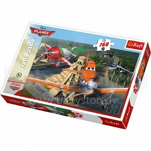 TREFL 15239 Puzzle Lidmašīnas - Flying visā valstī El Chupacabras
