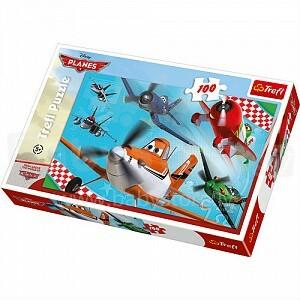 TREFL 16205  Puzzle Lidmašīnas