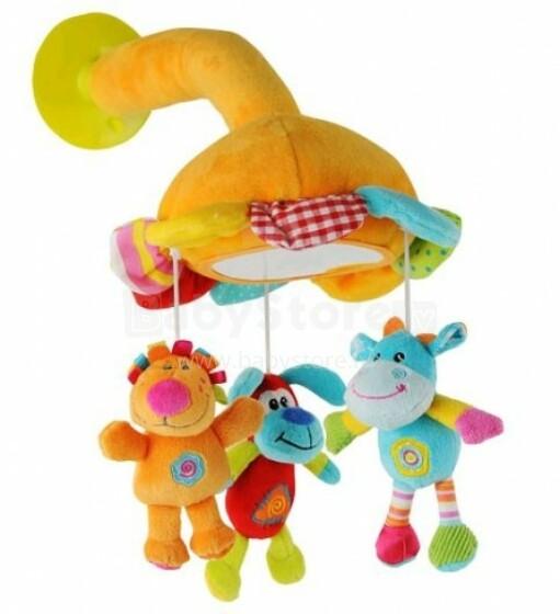 BabyOno 1310 rotaļlieta ar spoguli mašīnai