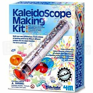 4M Kaleidoscope Making Kit Art.00-03226 Komplekts Izveido Kaleidoskopu