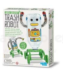 4M Green Creativity  Trash Robot 00-04587 Komplekts Robots