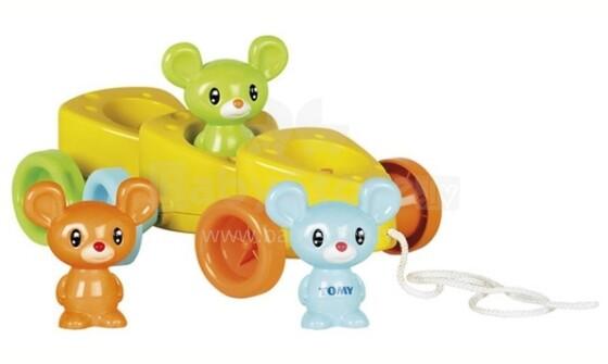 Tomy Art. 72099 Velkama rotaļlieta Cheesy Riders