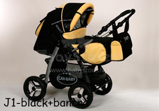 Baby Merc Junior Pram J1 Rati divi vienā
