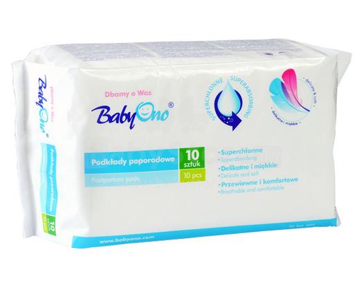 BabyOno Art. 502 Pēcdzemdību paketes (10 gab.)