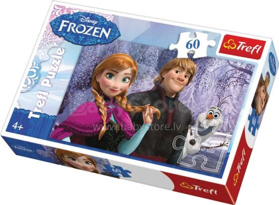Trefl Frozen 17259 Puzle Ledus sirds
