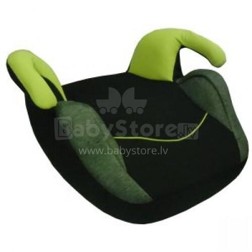 Lucky Baby Art.LB311 Black&Green Booster seat Autokrēsls būsteris