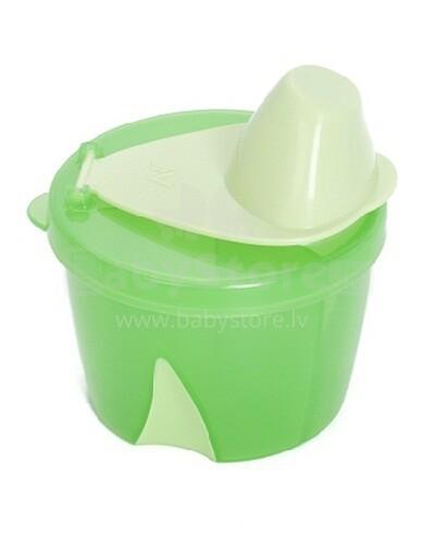 Cleva Mama Art. 7007 Infant Formula Travel Container Trauks/Kaste sausa piena maisījuma uzglabāšanai ar nodalījumiem
