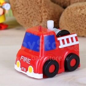 Ecoiffier 60/0080 Uzvelkamā ugunsdzēsēju mašīna