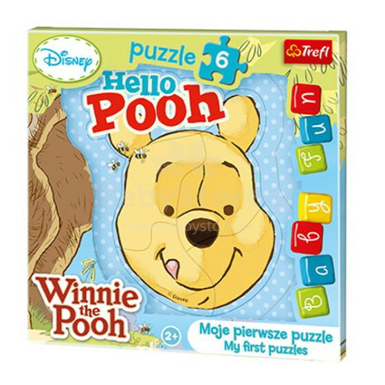 Trefl 36115T Winnie Pooh Puzle mazuļiem