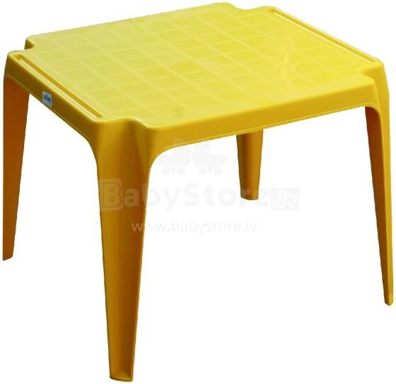 Disney Furni Yellow Art.800028 Play Table garden table Bērnu rotaļu galdiņš