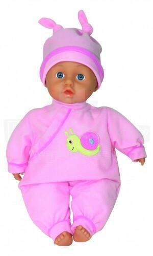 Lissi Art.91200 Riana runājoša lelle-mazulis 30 cm (rozā krāsa)