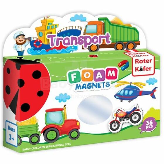 Roter Käfer RK2101-03 Magnētiska Mīkstā puzle Transports (Vladi Toys)