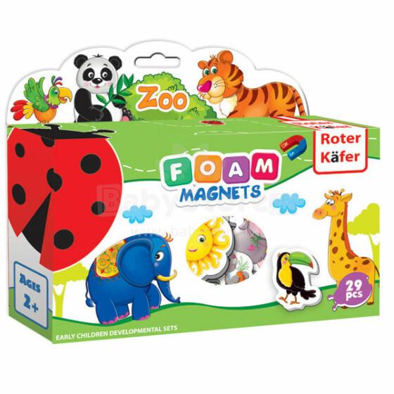 Roter Käfer RK2101-02 Mīkstā puzle ar magnētiem Zoo (Vladi Toys)