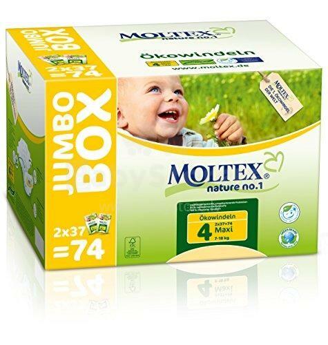 Autiņbiksītes Moltex Jumbo Maxi 7-18