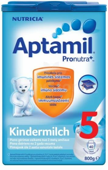 Aptamil Kindermilch 5 Art.86476 piena dzēriens, no 24 mēn., 800g