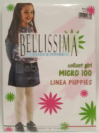 Bellissima Art.73428 Collant Girl Micro 100 BLACK Biezas,matētas bērnu zeķubikses no mikrofibras (6-12 izm.)