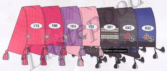 Lenne'16 Sal 15344C Bērnu siltā adīta šalle (krāsa 042)