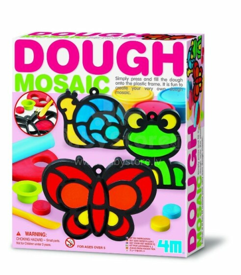 4M Dough Mosaic Art.00-04602 Komplekts -  mazā mozaīka