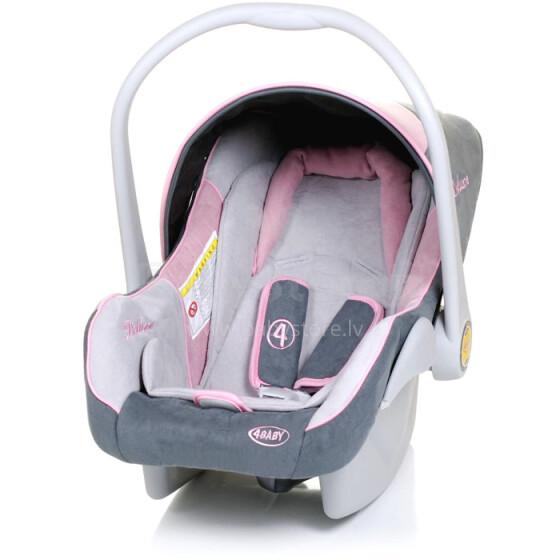4Baby '17 Colby Deluxe Col. Pink Bērnu autosēdeklis (0-13kg)