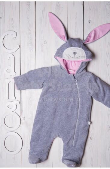 Cango Art.KGAW-025 Rabbit Girl Bērnu siltais kombinzons (68-80 izm.)