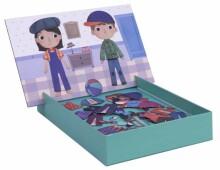Apli Kids Magnets Dress Up  Art.17557  Magnēšu spēle,40gab