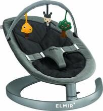 Nuna  Leaf Toybar Cinder Art. TY-01-00RSV Mīksta arka ar rotaļlietām šupuļkrēsliņam