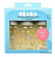 Beaba Biberon Art.911656 Anti-koliku barošanas pudele komplekts 3 gab, 240ml