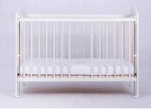 Drewex Kuba II  Art.89208 Natural  bērnu gulta ar noņemamu sānu, 120x60cm