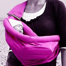 MiniMonkey Baby Sling 4 in 1 Black Bērnu slings