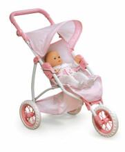 Lissi doll stroller summer 3-wheeler Trīsriteņu leļļu rati17700I