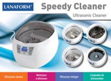 LANAFORM LA140102 SPEEDY CLEANER ultraskaņas tīrītājs