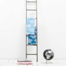 Fabulous Goose Sky Organic Dabīgas kokvilnas plediņš bērniem 75x100 cm