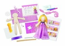 4M Princess Doll Making Kit 00-02746 Izdari Komplekts izdari pats Princesse